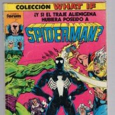 Cómics: SPIDERMAN. COLECCION WHAT IF. CONTIENE 5 NUMEROS. 6 AL 10.. Lote 289231743