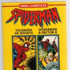 Cómics: SPIDERMAN NEW WARRIORS. OBRA COMPLETA. FUERZAS DE LA OSCURIDAD. FORUM PLANETA 1994. Lote 289236353