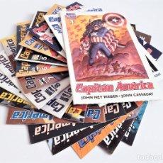 Cómics: CAPITÁN AMÉRICA 1 AL 16 JOHN NEY RIEBER JOHN CASSADAY CHUCK AUSTEN JAE LEE MARVEL COMICS FORUM. Lote 289296483