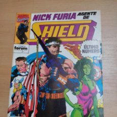 Cómics: NICK FURIA AGENTE DE SHIELD Nº 6 MARVEL COMICS FORUM. Lote 289330648