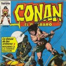 Cómics: CONAN EL BÁRBARO-FORUM- Nº 16 -LA DANZA DE LOS CRÁNEOS-1984-GRAN JOHN BUSCEMA-BUENO-DIFÍCIL-5585. Lote 289343438