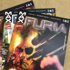 Cómics: MAX FURIA, ENNIS, ROBERTSON, PALMIOTTI, FORUM MARVEL COMICS. Lote 289343603
