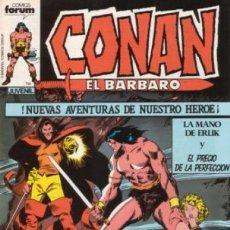 Cómics: CONAN EL BÁRBARO-FORUM- Nº 35 -LA MANO DE ERLIK-1984-JOHN BUSCEMA-CASI BUENO-DIFÍCIL-5586. Lote 289345158