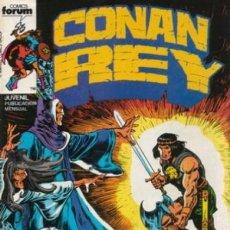 Cómics: CONAN REY -FORUM- Nº 1 -GRAN COMIENZO-1984-MAGISTRAL JOHN BUSCEMA-BUEN ESTADO-MUY DIFÍCIL-LEA-5589. Lote 289351553