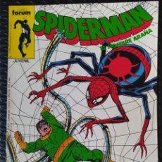 Cómics: FORUM SPIDERMAN VOL 1 Nº181, MUY BUEN ESTADO(VFN), PRIMERA EDICIÓN AÑOS 80-BAGED. Lote 289428163