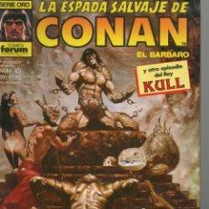Cómics: LA ESPADA SALVAJE DE CONAN - Nº 65. Lote 289510253
