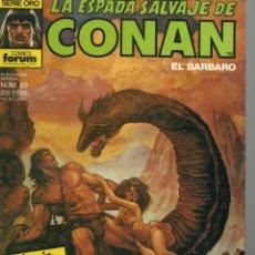 Cómics: LA ESPADA SALVAJE DE CONAN - Nº 63. Lote 289510598