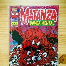 Cómics: MATANZA: BOMBA MENTAL (FÓRUM 1996). Lote 289511038