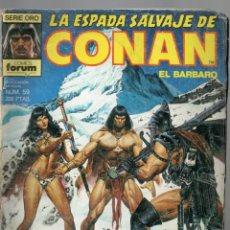 Cómics: LA ESPADA SALVAJE DE CONAN - Nº 59. Lote 289511283