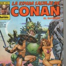 Cómics: LA ESPADA SALVAJE DE CONAN - Nº 56. Lote 289512168