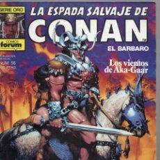 Cómics: LA ESPADA SALVAJE DE CONAN - Nº 55. Lote 289512318