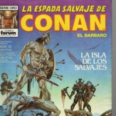 Cómics: LA ESPADA SALVAJE DE CONAN - Nº 53. Lote 289512458