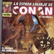 Cómics: LA ESPADA SALVAJE DE CONAN - Nº 52. Lote 289512838