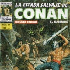 Cómics: LA ESPADA SALVAJE DE CONAN - Nº 35. Lote 289515228