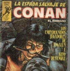 Cómics: LA ESPADA SALVAJE DE CONAN - Nº 27. Lote 289516198