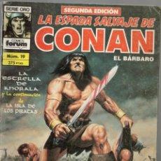 Cómics: LA ESPADA SALVAJE DE CONAN - Nº 19. Lote 289516388