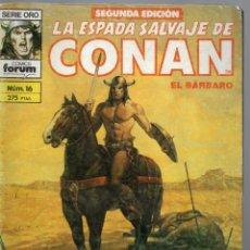 Cómics: LA ESPADA SALVAJE DE CONAN - Nº 16. Lote 289517068
