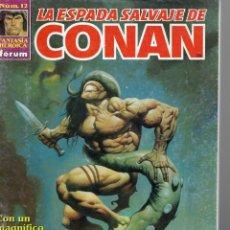 Cómics: LA ESPADA SALVAJE DE CONAN - Nº 12 - EDICION ARGENTINA. Lote 289517188