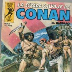 Cómics: LA ESPADA SALVAJE DE CONAN - Nº 7. Lote 289517248