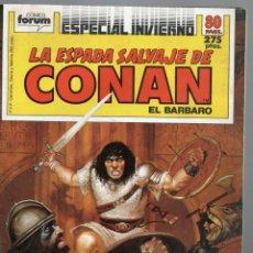 Cómics: LA ESPADA SALVAJE DE CONAN - ESPECIAL INVIERNO. Lote 289517718
