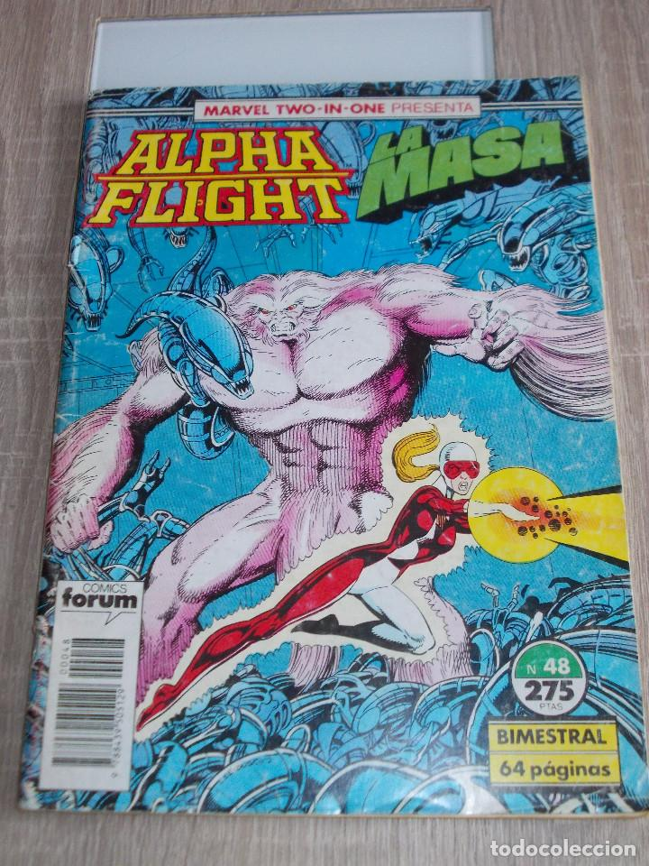 ALPHA FLIGHT & LA MASA VOL-1 Nº 48. 64 PAGÍNAS. FORUM (Tebeos y Comics - Forum - Alpha Flight)
