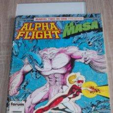 Cómics: ALPHA FLIGHT & LA MASA VOL-1 Nº 48. 64 PAGÍNAS. FORUM. Lote 289565223