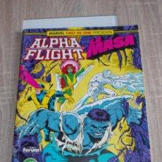 Cómics: ALPHA FLIGHT & LA MASA VOL-1 Nº 53. 64 PAGÍNAS. FORUM. Lote 289565423