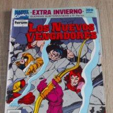 Cómics: EXTRA INVIERNO. LOS NUEVOS VENGADORES. LAS GUERRAS SUBTERRANEAS. ª PARTE. (XI/92). FORUM. Lote 289570158