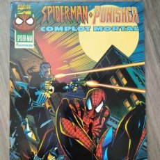 Cómics: SPIDERMAN PUNISHER COMPLOT MORTAL. ESPECIAL FORUM. Lote 289592278