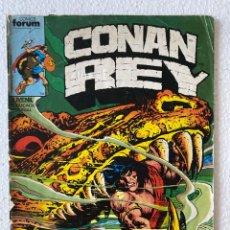 Cómics: CONAN REY VOL1 #10 FÒRUM 1ª EDICIÓN (CELO EN EL LOMO). Lote 289602168