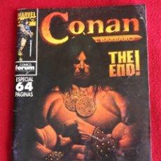 Cómics: CONAN EL BÁRBARO NUM. 213 AÑO 1994 MARVEL EL ULTIMO - EXCELENTE. Lote 289669203
