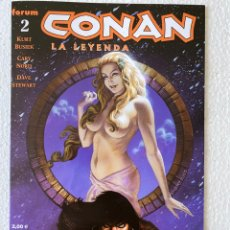 Cómics: CONAN LA LEYENDA #2 FORUM 2005 PERFECTO ESTADO. Lote 289683243