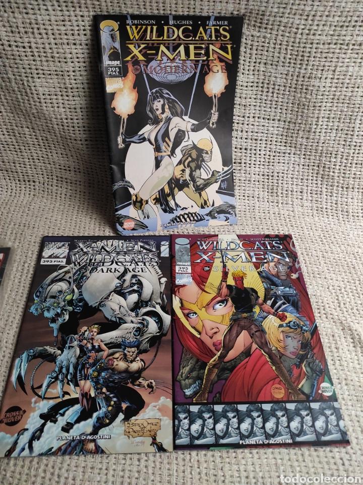 WILDCATS X-MEN , LOTE DE 3 EJEMPLARES ( CROSSOVER ) (Tebeos y Comics - Forum - X-Men)
