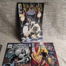 Cómics: WILDCATS X-MEN , LOTE DE 3 EJEMPLARES ( CROSSOVER ). Lote 19950141
