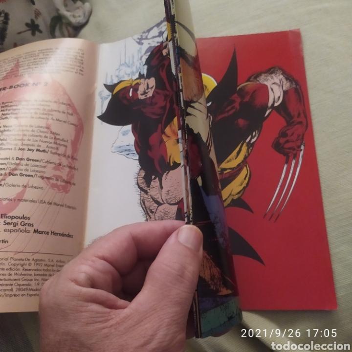Cómics: Marvel poster book lobezno 2 - Foto 3 - 289708483