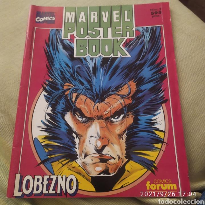 MARVEL POSTER BOOK LOBEZNO 2 (Tebeos y Comics - Forum - X-Men)
