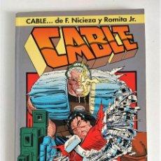 Cómics: CABLE: SANGRE Y METAL (NICIEZA Y ROMITA JR) ~ MARVEL / FORUM **MUY BUEN ESTADO**. Lote 290106773