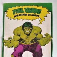 Cómics: PÓSTER LA MASA VOL.1 Nº 1 (JOHN BUSCEMA) ~ MARVEL / FORUM (1983). Lote 290109403