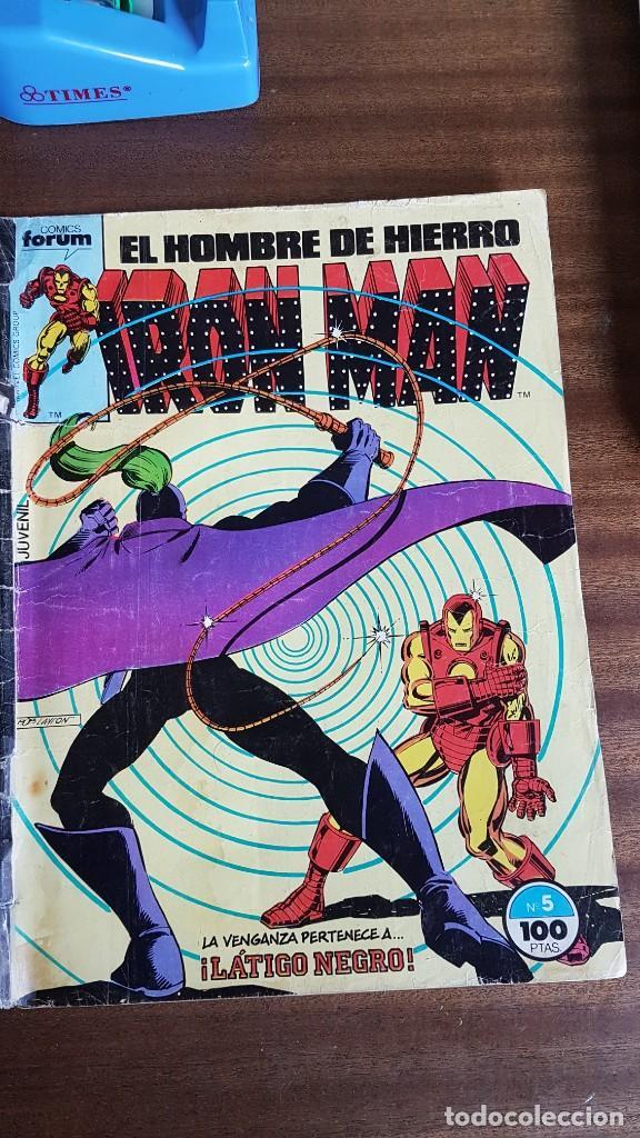 IRON MAN NUM. 5 (Tebeos y Comics - Forum - Iron Man)