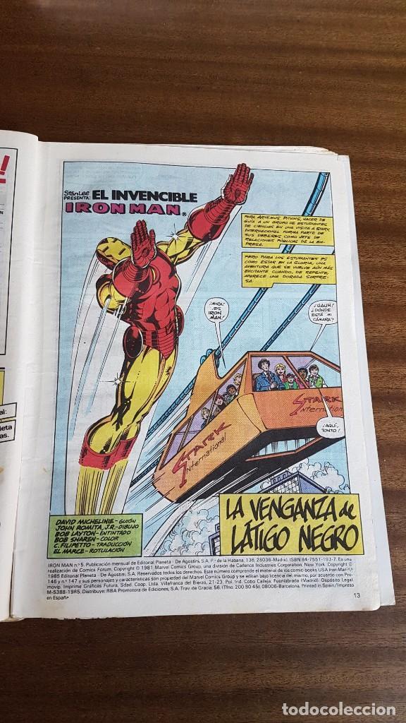 Cómics: IRON MAN num. 5 - Foto 9 - 290139488