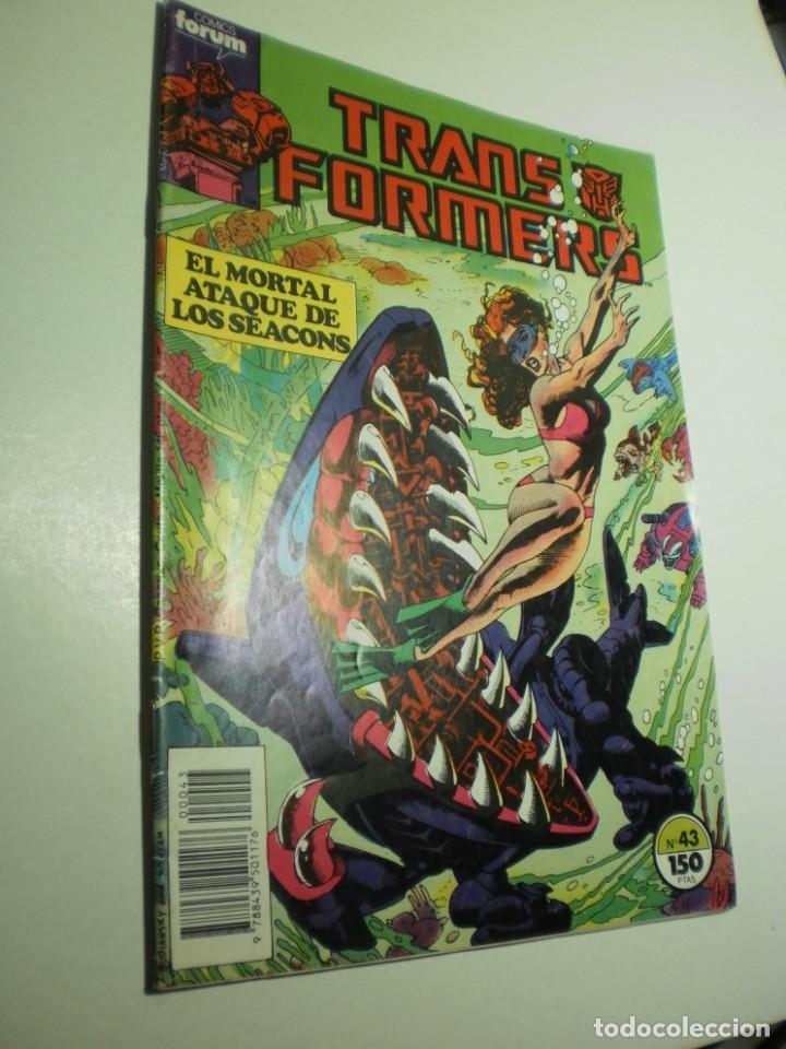 TRANSFORMERS Nº 43 FORUM 1985 (BUEN ESTADO) (Tebeos y Comics - Forum - Otros Forum)