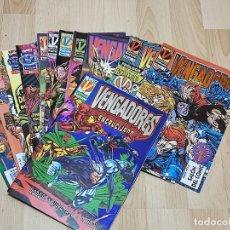 """Comics: LOS VENGADORES VOL.2 FORUM 1996-97 COMPLETA.14 NºS + ESPECIAL SAGA """"ENCRUCIJADA"""". Lote 290681328"""