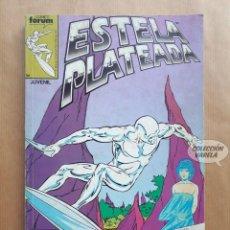 Cómics: ESTELA PLATEADA - RETAPADO 1 A 5 - FORUM. Lote 290987548