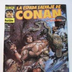 Fumetti: LA ESPADA SALVAJE DE CONAN NUM 162 - PRIMERA EDICION - BUEN ESTADO. Lote 291222893
