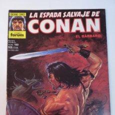 Fumetti: LA ESPADA SALVAJE DE CONAN NUM 163 - PRIMERA EDICION - BUEN ESTADO. Lote 291222898