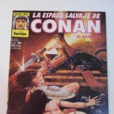 Fumetti: LA ESPADA SALVAJE DE CONAN NUM 165 - PRIMERA EDICION - BUEN ESTADO. Lote 291222908