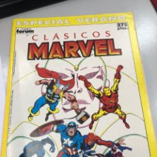 Cómics: CLÁSICOS MARVEL ESPECIAL VERANO POR ROY THOMAS Y JOHN BUSCEM - FORUM. Lote 291464668