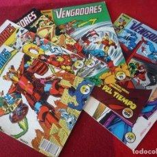 Cómics: VENGADORES VOL. 1 NºS 18, 19, 21, 24, 26 Y 36 MARVEL FORUM. Lote 291964298