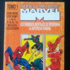 Cómics: SERIES LIMITADAS MARVEL LOS ENEMIGOS MORTALES DE SPIDERMAN Y LA ANTORCHA HUMANA. Lote 292240243