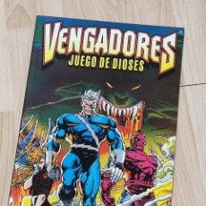 Comics: VENGADORES JUEGO DE DIOSES FORUM 1996 MARVEL COMICS, HARRAS KAVANAGH DEODATO. Lote 292348188